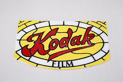 RARE Kodak Film Stained Glass Lamp Replacement Panel / Sign - Ships from Canada