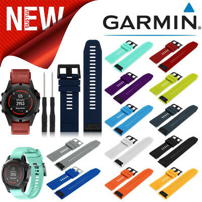 Quick Release Watch Band Wrist Strap Replacement Garmin For Fenix 5/5X/3 22/26mm