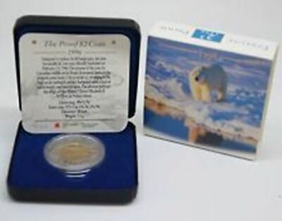 1996 $2 Proof Polar Bear Canada