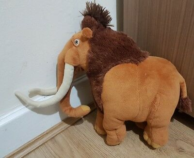 """Ice Age 3 - 10"""" Manny The Woolly Mammoth Soft Toy -"""