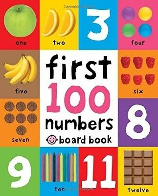 New, First 100 Numbers (First 100 Soft to Touch Board Books), Priddy, Roger, Boo