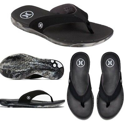 1e1b5785fb7e Hurley Men s Phantom Free Black CAMO Flip Flops Sandals (MSA0000150) - Size  7
