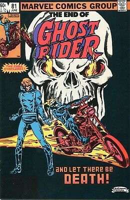 Ghost Rider #81 VF/NM 1983 Marvel Comic Book
