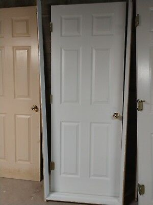 Solid Wood Interior Doors Raised Panel Excellent Cond.