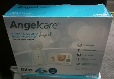 Angelcare AC1320 Digital Video and Sound Baby Monitor. special offer for weekend