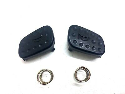 99-04 Land Rover Discovery II 2 Horn Button Cap Switch SET Cover HES 4X4 SE OEM