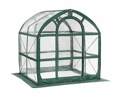 Flower House FHSP300CL SpringHouse Greenhouse, Clear Greenhouse Clear
