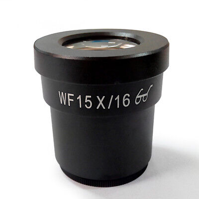 WF15X High Eye-point Eyepiece Wide Field 16mm Lens Ocular for Stereo Microscope