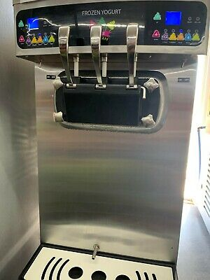 PASMO US S-230 table Frozen Yogurt Table Top set of 5 machine new arrived !