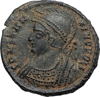 CONSTANTINE I the GREAT Founds Constantinople Original Ancient Roman Coin i67518
