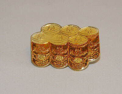 Old Milwaukee Six Pack--Lapel Pin