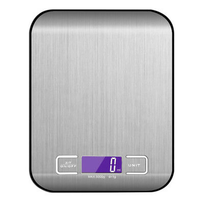 Salter Digital Kitchen Scale 5kg Plastic Cooking Food Weighing Scale White