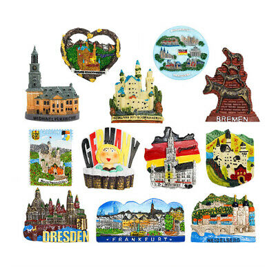 3D Resin Fridge Magnet Tourist Travel Souvenir Memorabilia - Germany