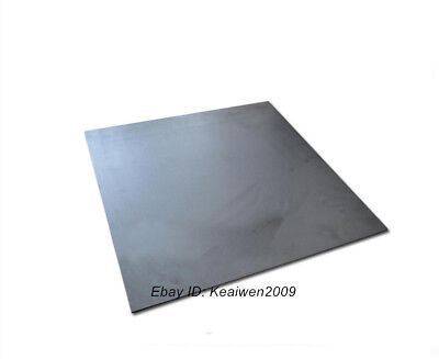 300x300x5mm Graphite Plate Sheet Carbon Vane Electrode Mould Sanode 5mm thick