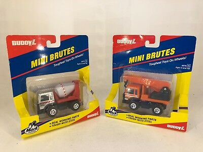 Buddy L - 1980's - Mini Brutes - Mack Trucks - NIB