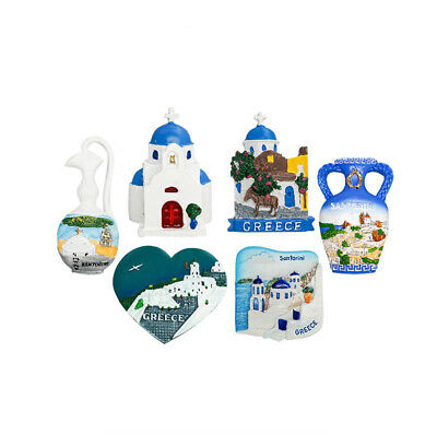 3D Resin Fridge Magnet Tourist Travel Souvenir Memorabilia - Crete, Greece