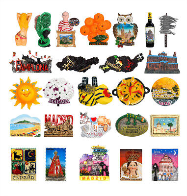 3D Resin Fridge Magnet Tourist Travel Souvenir Memorabilia - Spain