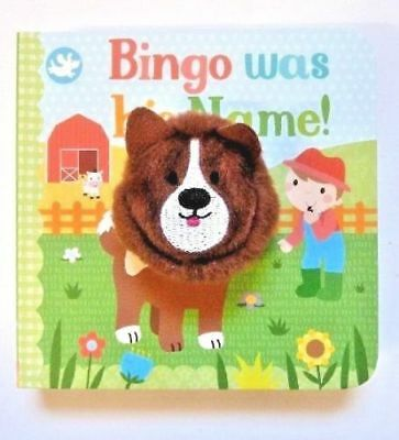Finger Puppet Book Bingo Was His Name..!! Gift For Children/Kids Age babies-4yr