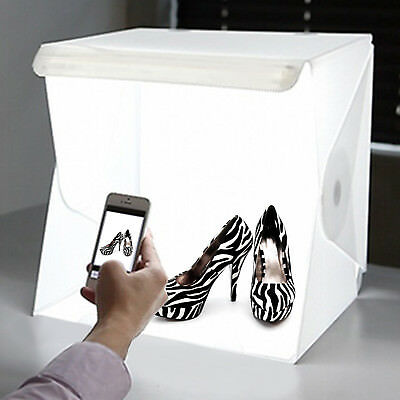 Portable Light Room Camera Photo Studio Photography Lighting Tent Kit Mini Box