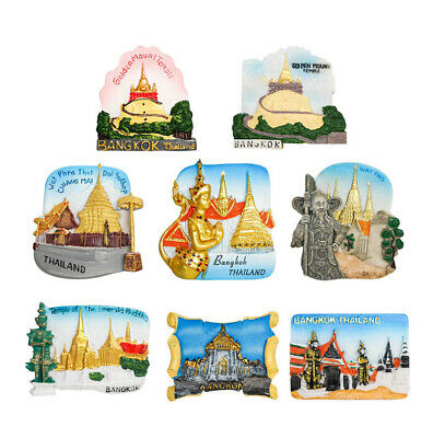 3D Resin Fridge Magnet Tourist Travel Souvenir Memorabilia  - Thailand