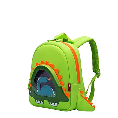 OFUN Dinosaur Backpack, Cartoon Backpack for Toddler Boys, Little Kids Dino Bag