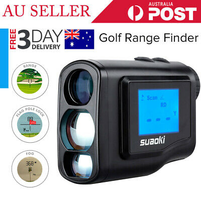 600M LCD Laser Range Finder Golf Hunting Distance Meter Measurer Outdoor Sport