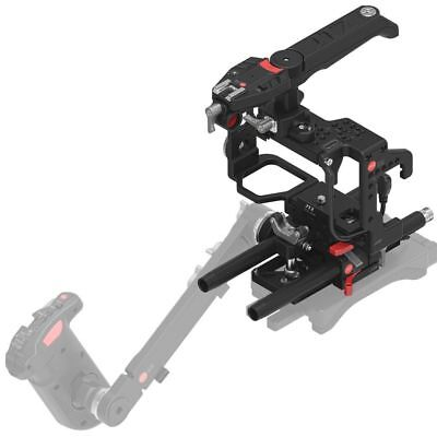 JTZ DP30 Cage Baseplate Top Handle Grip Rig Set for Sony Alpha A6000 A6300 A6500