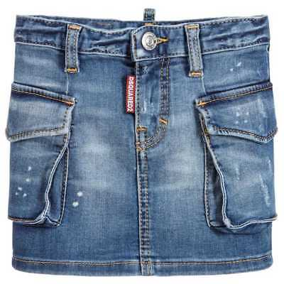 DSQUARED2Q BAMBINA Gonna Jeans DQ02QV D00RE D2G22F-DQ01