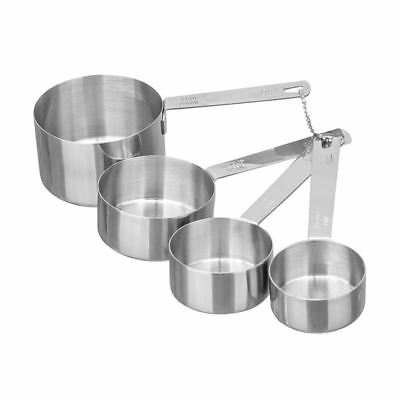 Bakers Secret - 4Pc Stainless Steel  Measuring Cups