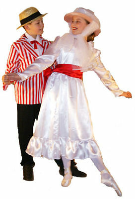Victorian/Edwardian/Mary Poppins Girls JOLLY HOLIDAY Costume ALL AGES/SIZES