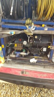 drain jetter van pack drainage business for sale