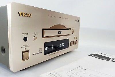 TEAC DV-H500 CD / DVD Player with Manual - NO REMOTE - FREE UK DELIVERY