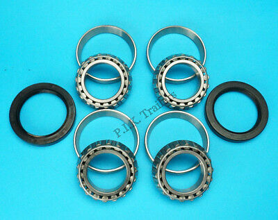 2 x Trailer Wheel Bearing 18590 & Seals for Ifor Williams ALKO Hub   #KIT-118
