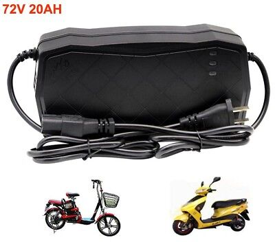 72V 20AH Lead Acid Battery Charger For E Electric Bike Bicyle Scooters Tricycle