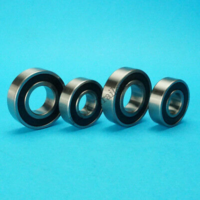 2 x Wheel Bearings for Daxara Trailer 106 107 127 136 137  #6202 6004 RS