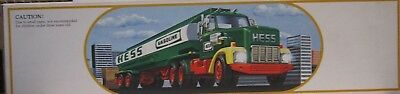 Hess Vintage 1984 Toy Fuel Oil Tanker Truck Bank in Original Box Never Used