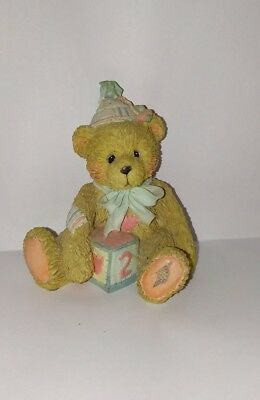 1992 Cherished Teddies - Age 2 - Two Sweet Two Bear