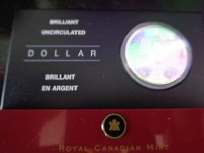 2005 Canadian Uncirculated Brilliant Dollar Coin