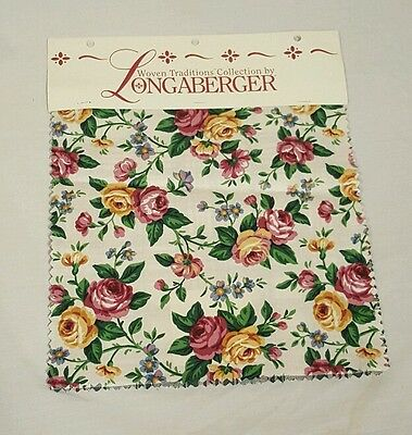 Logaberger Woven Collection 6 Piece Fabric Swatch Set Diff Patterns Quilt Crafts