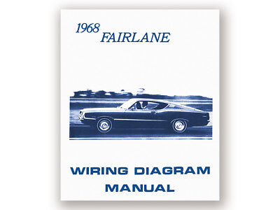 New 1968 Fairlane Wiring Diagram Manual 500 Torino GT Squire Schematic Ford