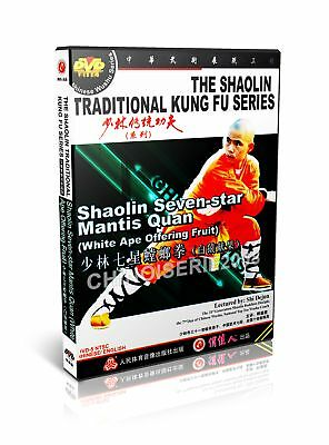 Shao Lin Traditional Kungfu Shaolin Seven star Mantis Quan No.1 by Shi Dejun DVD