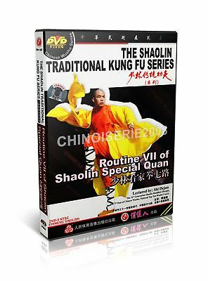 ShaoLin Traditional Kungfu Routine VII of Shaolin Special Quan by Shi Dejun DVD