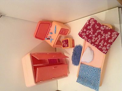 BARBIE VINTAGE Camera da letto, Mattel anni 80 - EUR 39,90 | PicClick IT