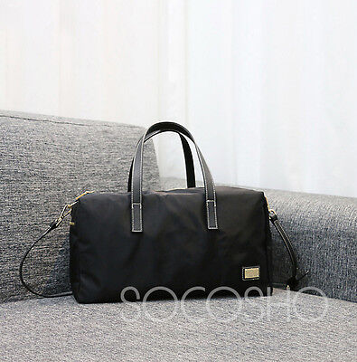 Mini Duffel Bag (Black) Overnight Ladies Bag