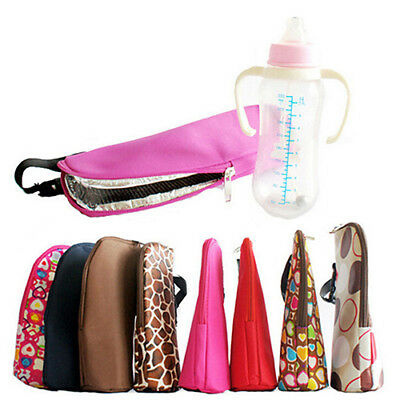 BL_ Baby Thermal Feeding Milk Bottle Warmers Bag Stroller Insulation Tote Natura
