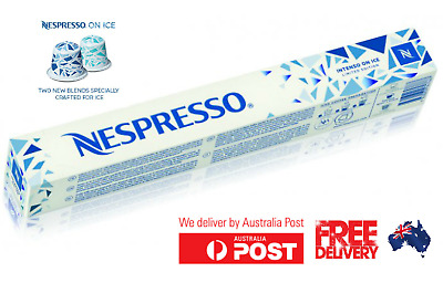 Nespresso Limited Ice Collection, Intenso on Ice 10 Capsules- geuine Australian