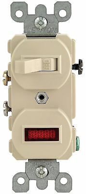 Leviton 105-5226-ISP Lighted Pilot Switch