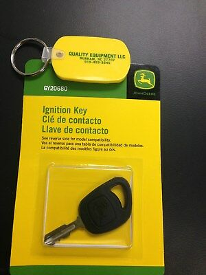 John Deere-Gy20680, Ignition Key