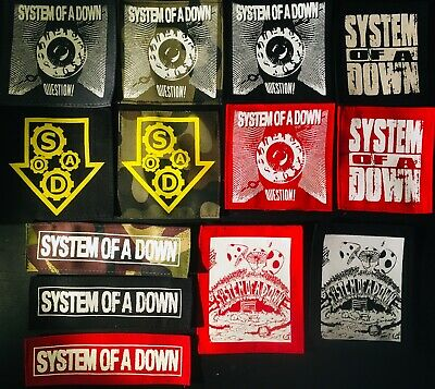 SYSTEM OF A DOWN patches  metal punk hard core