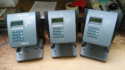 Lot of 3 Schlage HK-II HandKey II Recognition Systems Biometric Reader